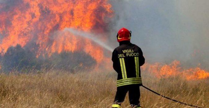 sicilia - incendi - musumeci