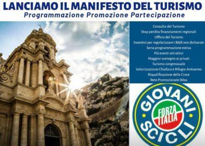 Scicli - Forza Italia Giovani - Il Manifesto del Turismo