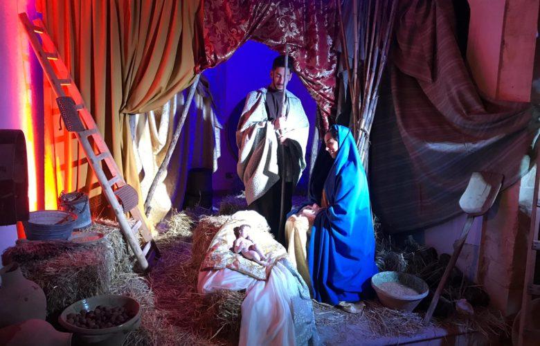 presepe vivente - parrocchia del Sacro Cuore di Gesù - Ragusa