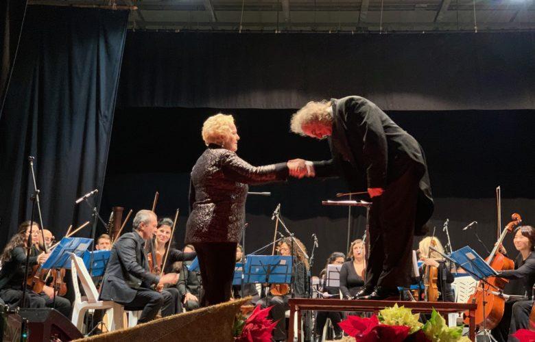Katia Ricciarelli - Umberto Terranova - Euro Sinphony orchestra - teatro Tenda - Ragusa