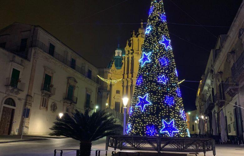 luminarie natalizie - Ibla