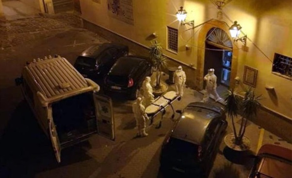 ambulanze, evacuata Rsa in zona rossa