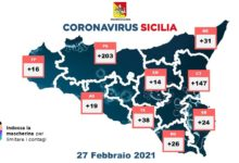 covid sicilia - 27 febbraio