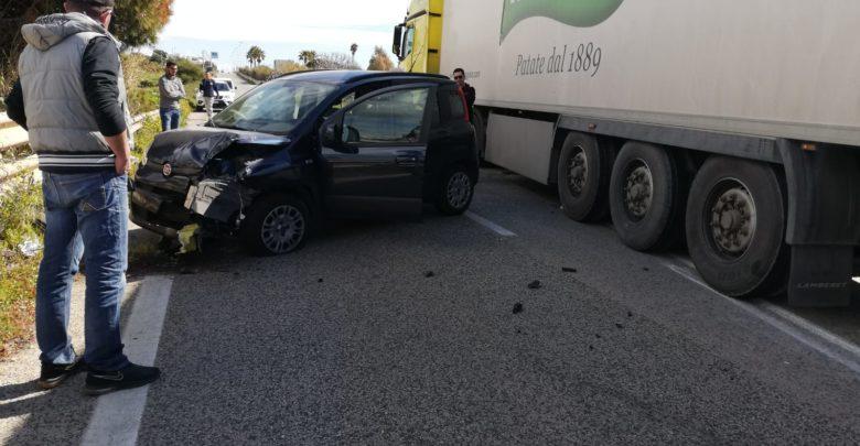 incidente - auto - cava d'aliga-sampieri