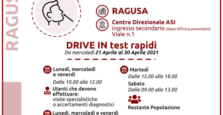 test rapidi - ragusa