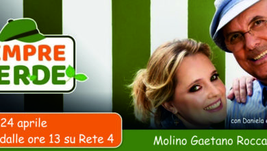 Sempre Verde - 24 aprile - Molino Gaetano Roccasalva