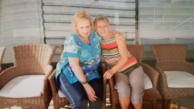 Pat Eggleton e la sorella