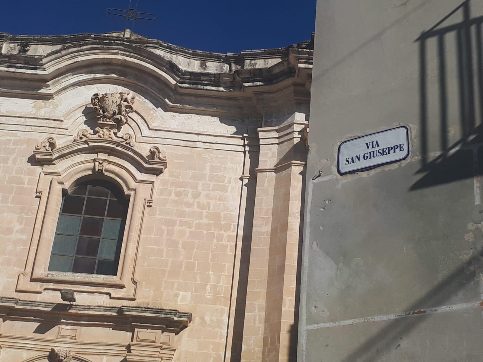 Scicli, quartiere San Giuseppe
