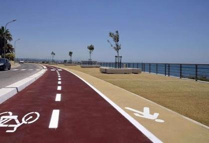 pista ciclabile - lavori - ragusa