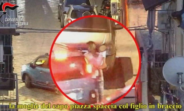 Blitz anti-droga - Catania