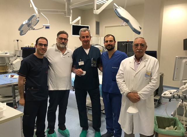 Ragusa - intervento vie biliari