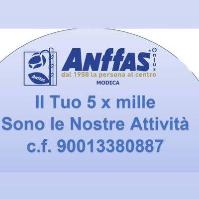 5x1000 - Anffas Modica