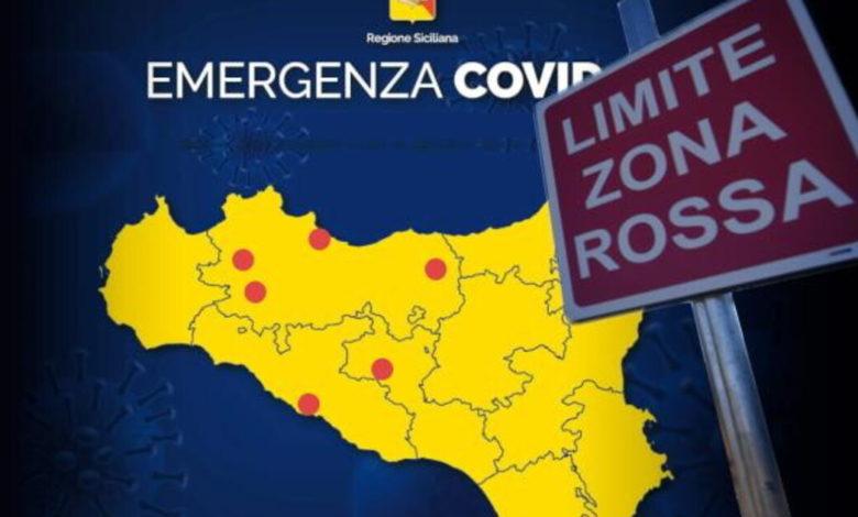 sicilia - zone rosse