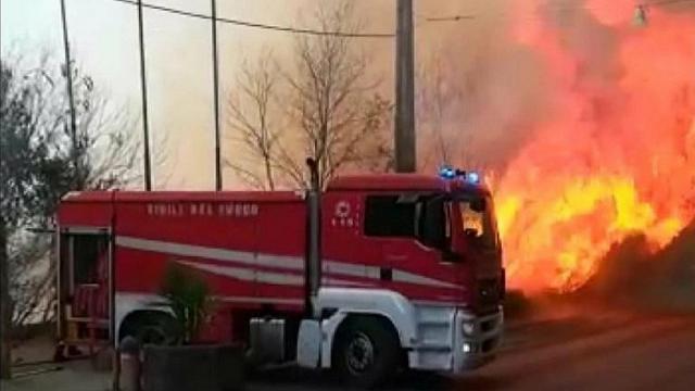 sicilia - incendi