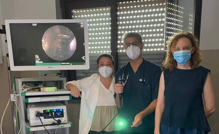 modica - ospedale - broncoscopia