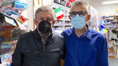 Giuseppe Vendemmia e il sindaco di Ispica Leontini